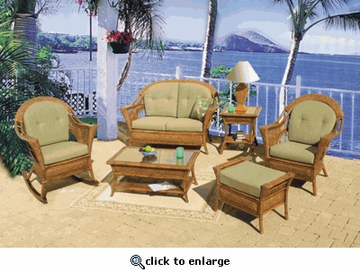 Trinidad Chair / Rocker Cushions with Sunbrella & Richloom Premiere Fabrics (UPS $25)