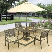 "Lancaster 48"" Round Dining Set/5 (MF)"