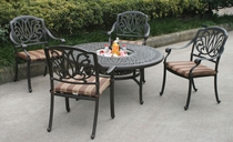 Springfield Chat Table & Chairs