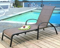 Sling Stackable Chaise Lounge (MF) (15% Off!)