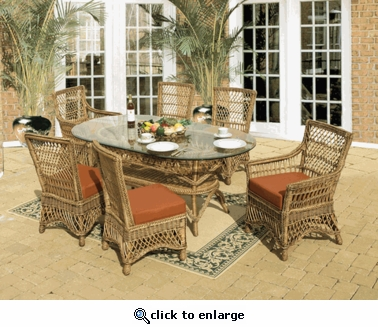 Bar Harbor Dining Chair Cushions Set/2 with Fran's Indoor/Outdoor Fabrics (UPS $35)