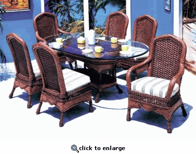 Moroccan Dining Chair Cushions (UPS $25) with Fran's Indoor/Outdoor Fabrics