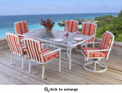 Grace Bay Rectangular Dining Set of Seven (MF) (15% Off!)
