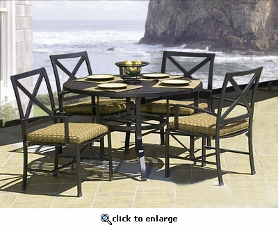 Ibiza Dining Set of Five (MF)