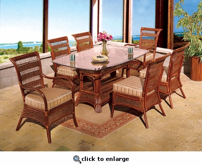 Seawinds Oval Dining Set/7 (MF)