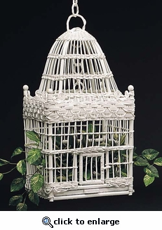 Dome Bird Cage (UPS $20)