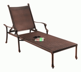 Allegra Adjustable Chaise Lounge