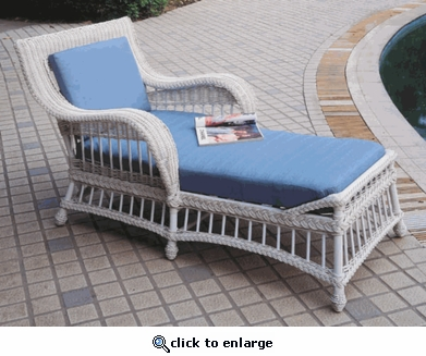 Key Largo Chaise Lounge Cushions with Sunbrella & Richloom Premiere Fabrics (UPS $45)