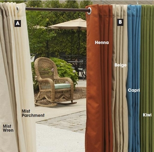 Indoor/Outdoor Curtains