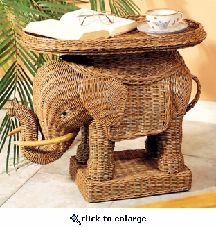 Elephant Table (UPS $55)