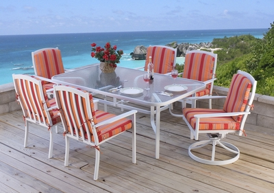 "Grace Bay 72"" x 42"" Rectangular Dining Collection"" title=""Grace Bay 72"" x 42"" Rectangular Dining Collection"