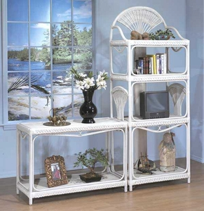 Fan Console Table & Etagere (MF) Click picture for details (40% Off!)