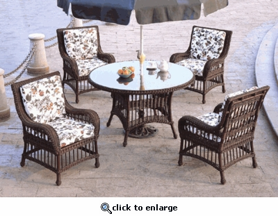 Key Largo Dining Chair Cushions with Sunbrella & Richloom Premiere Fabrics (UPS $25)