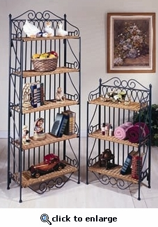Scrollwork 5 Tier Etagere (UPS $75)