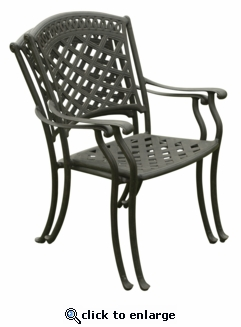 Blanca Dining Arm Chair (UPS $70)