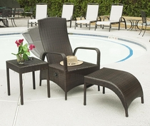 Maroma Chair and Ottoman Set (UPS $125)
