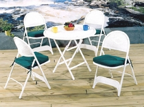 Outdoor Folding Chairs Set/2 (UPS $55)