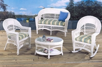 Saybrook Wicker Living Room Set/4 (MF)