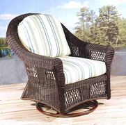 Outdoor Wicker Gliders