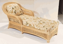 Seawinds Chaise Lounge Cushions with Fran's Indoor/Outdoor Fabrics (UPS $45)