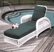Aquarius Chaise Lounge Cushions with Sunbrella & Richloom Premiere Fabrics (UPS $45)