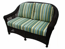 Berkeley Loveseat Cushion with Sunbrella & Richloom Premiere Fabric (UPS $50)