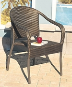 """""""All Weather"""" Stacking Chairs Set/4 (UPS $95)"""