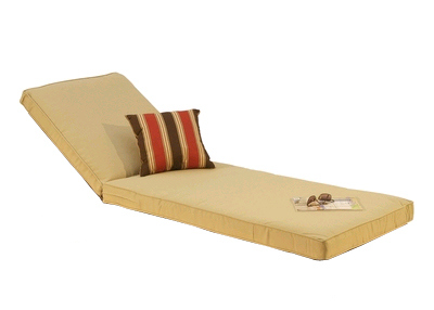 Custom Chaise Cushions