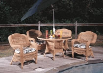 Camelback Dining Chair Cushions Set of 2 with Sunbrella & Richloom Premiere Fabrics (UPS $35)