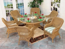 Aquarius Dining Set of 7 (MF)