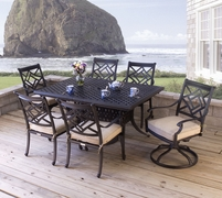 Nevis Extension Dining Set of Seven (MF)