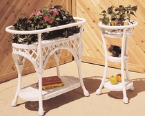 Wicker Three Tier Planter (UPS $20) (40% Off!)