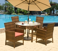 Casablanca Dining Set of Five (MF)