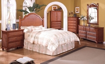 Milan Twin Bedroom Set of Four (MF)