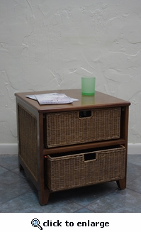 Wicker Room Organizer (USP $50)