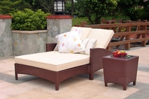 Maroma Double Chaise and End Table