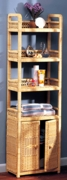 Spiral Etagere with Cabinet (UPS $85)
