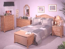 South Pacific Queen Bedroom Collection