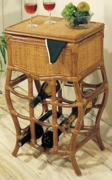 Rattan Wine Table (UPS $40)