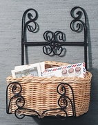Wall Basket w/ Iron (UPS $15)