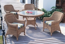 Tahiti Dining Set of 5 (MF)