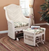 Cheval Wicker Glider