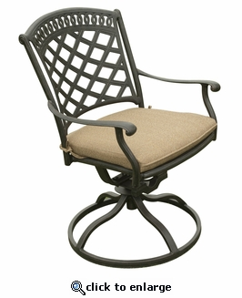 Blanca Swivel Dining Chair (UPS $95)