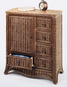 Wicker Storage Cupboard (UPS $45)