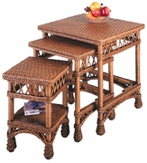 Space Saving Wicker Tables (UPS $65)
