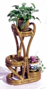 Rattan 3-Tier Plant Stand   (UPS $45)