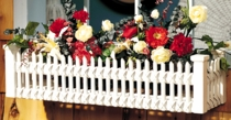 Picket Fence Window Box  (UPS $25)
