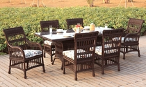 Key Largo Rectangular Dining Set/7 (MF)