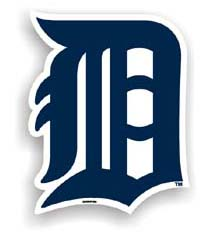 Detroit Tigers Car Magnet