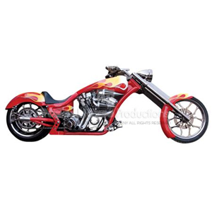 Custom Chopper Magnet
